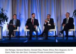 Del Renigar, General Electric; Donald Niss, Power Africa; Rick Angiuoni, Ex-Im  Bank; Peter Van den Dool, Overseas Private Investment Corporation