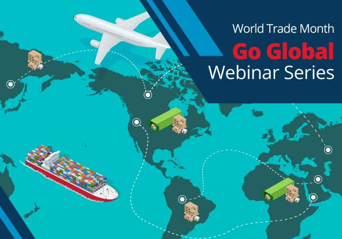 Get Your Export Questions Answered! Free Webinar Series in May